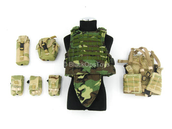 U.S. Army Ranger - Assault Vest w/Pouch Set Mint In Box