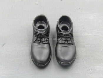 NYPD - Black Officer Shoes (Peg Type)