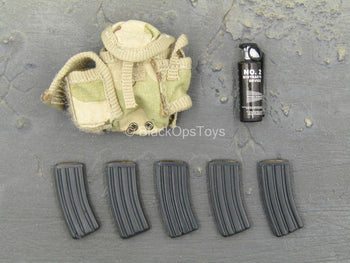 ACE - 3C Desert Camo Ammo Pouch w/AR Mags & Grenade