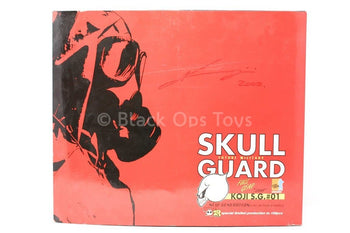 Signed - Skull Guard Future Military - Joel - Red Version - MINT IN BOX