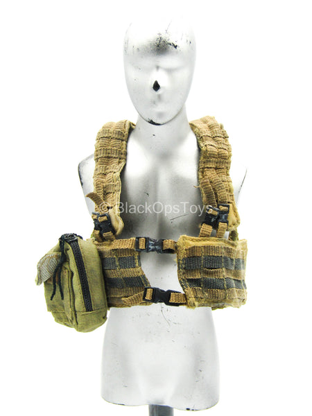 World War Robot - Sniper - Punter - Weathered AUSCAM Chest Rig