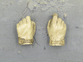 STAR WARS - Rebel Commando - Tan Gloved Hands (x2)
