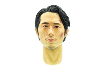 The Walking Dead - Glenn Rhee - Asian Male Head Sculpt