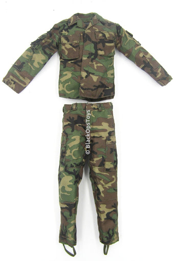 US Navy SWG-4 - Woodland Camo Uniform Set