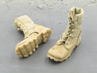 USMC RCT 6th Regiment - Tan Combat Boots (Foot Type)