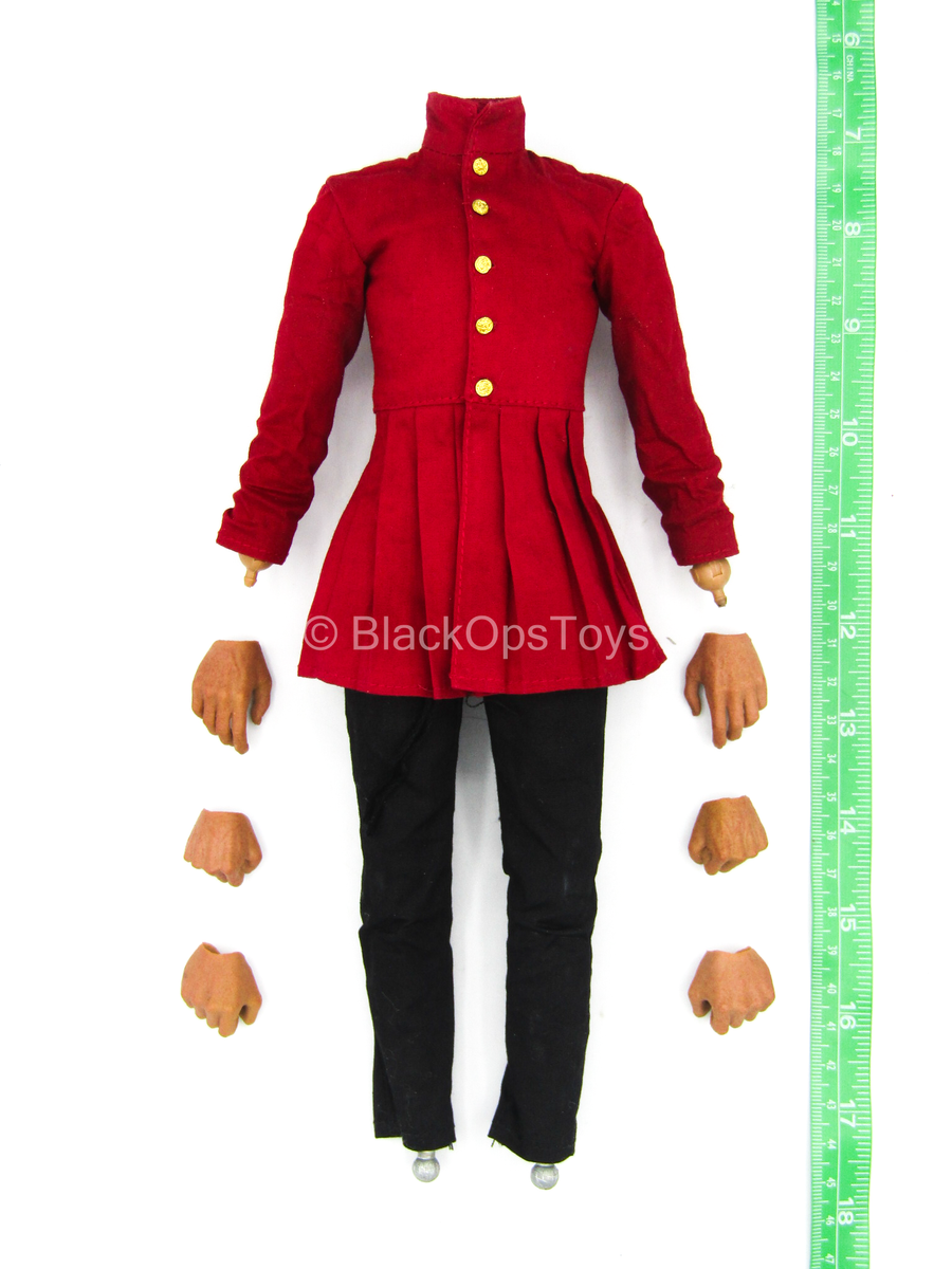 Henry VIII Red Dragon Ver. - Dressed Male Base Body w/Hand Set
