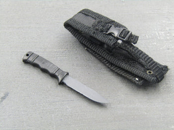 US Navy SWG-4 - Metal SOG Knife & Sheath