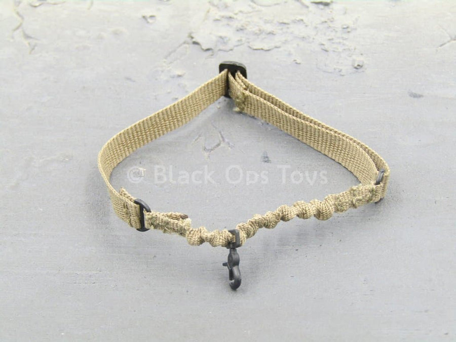 USMC RCT 6th Regiment - Tan Retention Lanyard