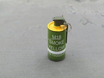 US Navy SWG-4 - M18 Yellow Smoke Grenade