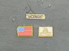 USMC RCT 6th Regiment - Patch Set w/American Flag Patch