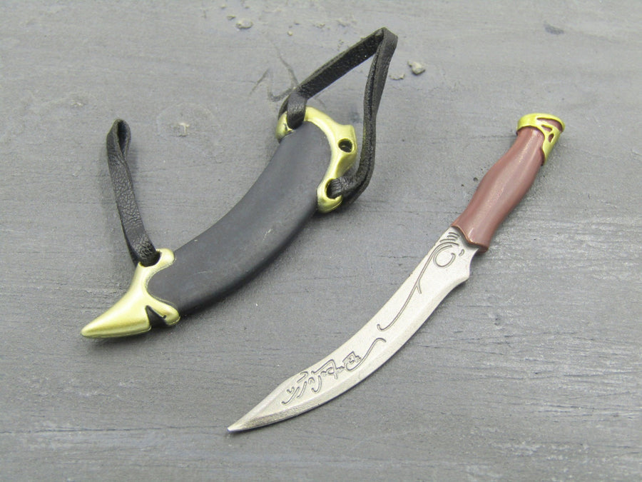 Lotr Aragorn Elvish Dagger Sheath Blackopstoys