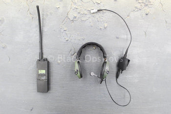 US Navy - NSW Marksman - Black Radio & Headset