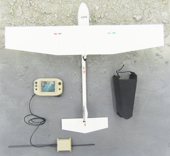 US Navy SWG-4 - White Drone & Hand Held Control Screen Set