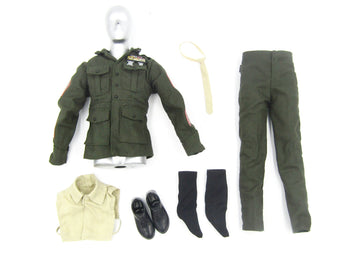 Sgt. R. Lee Erney - Marine Drill Sgt. Uniform Set & Shoes (Foot Type)