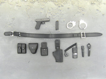 Police - Officer Duty Pistol & Belt Set