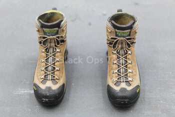 US Navy - NSW Marksman - Black & Tan Combat Boots (Peg Type)