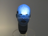 Spiderman 2 - Electro - Light Up Head Sculpt w/Magnetic Neck Peg