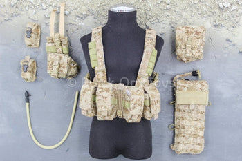 US Navy - NSW Marksman - AOR 1 Camo Chest Rig & Pouch Set