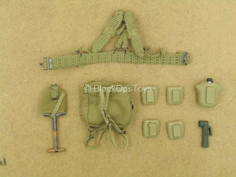 1/12 - WWII US Army Paratrooper - Utility Belt Set
