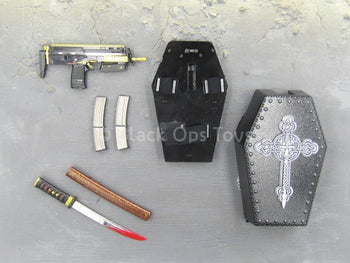 Spade 6 Ada - HK MP7 Set & Katana w/Coffin Back Pack Set