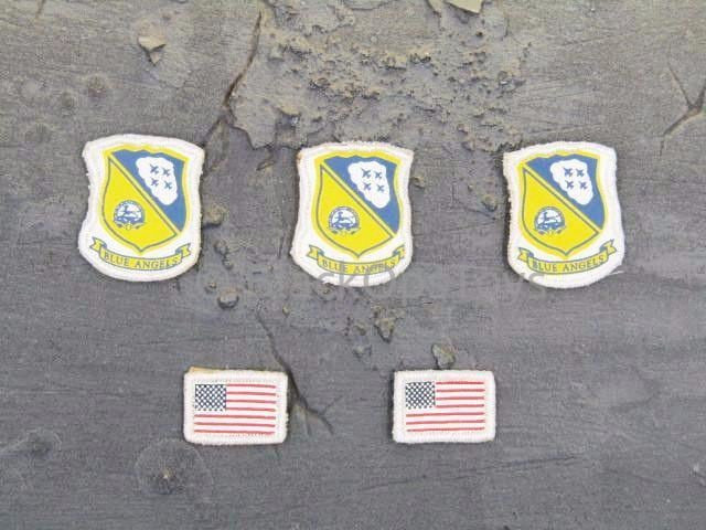 "Blue Angels U.S. Navy Flight Demonstration Squadron ""Rich"" Patches"