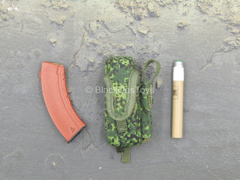 Russian Naval Infantry SE - AK-47 Magazine w/Flare & EMR Camo Left Side Pouch