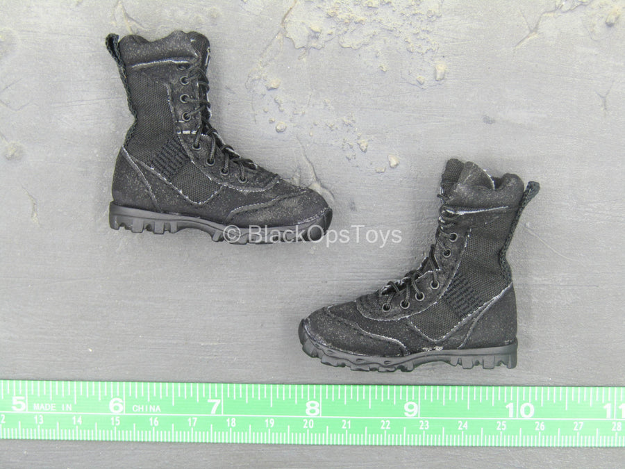 Combat Uniform - Black Combat Boots (Foot Type)