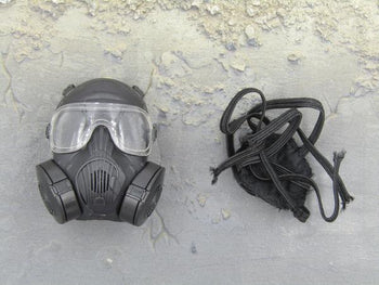 Black Gas Mask - MINT IN BOX