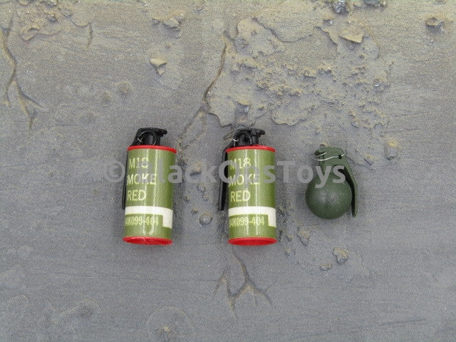 Mini Times Toys US Navy Seal Battle of Abbas Ghar Smoke Grenade & Hand Grenade