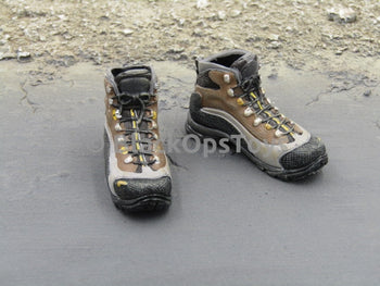 US Navy Seal Battle of Abbas Ghar ASOLO Hiking Boots (Peg Type)