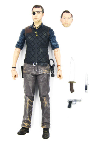 5 INCH SCALE - TWD - The Governor w/Survival Gear Set