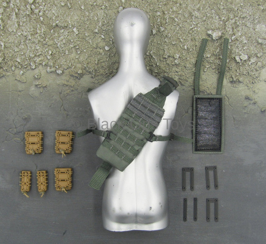 PMC Security Detail - MOLLE Bandolier w/Mag Holsters