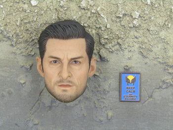 PMC Security Detail - Male Head Sculpt In Hugh Jackman Likeness