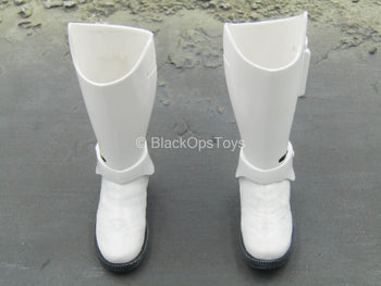 STAR WARS - Stormtrooper - Black & White Boots (Peg Type)