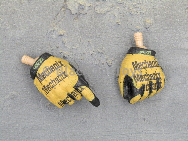 Mini Times Toys US Navy Seal Battle of Abbas Ghar Mechanix Yellow Gloved Hands