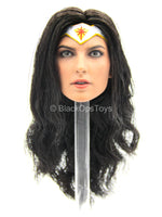 Justice League - Concept Wonder Woman - Female Head Sculpt