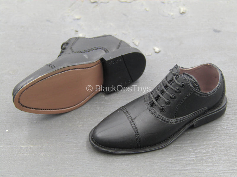 German U-Boat Commander - Black Dress Shoes (Foot Type)