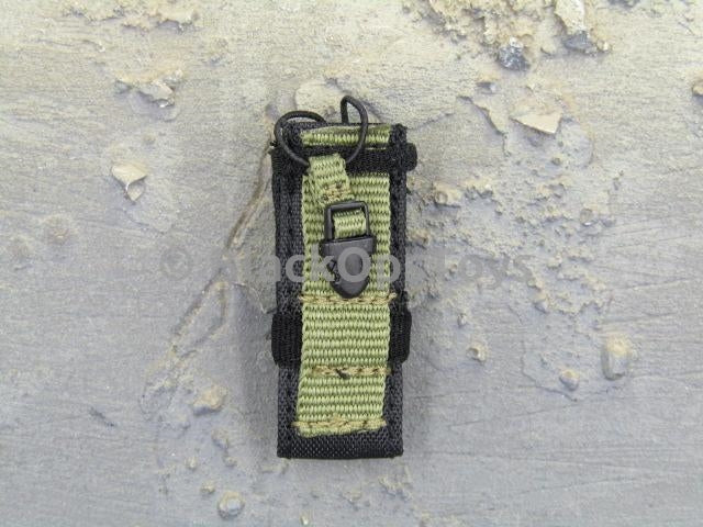 ZERT Joint Task Force Asia Black & Tan Alpha Version Green & Black Radio Pouch