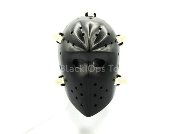 Bank Robbers Crew - Black Molded Hockey Mask