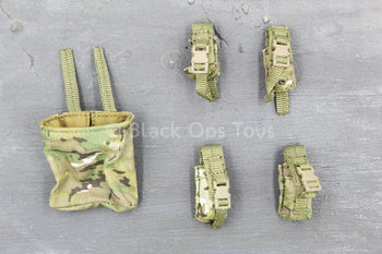Commonwealth Forces - Multicam Camo MOLLE Ammo Pouch Set