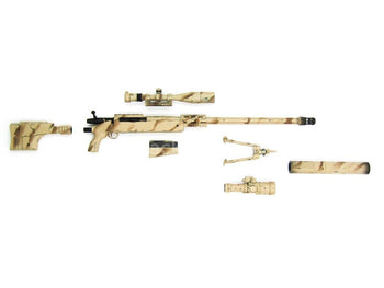 Navy SEAL - Sniper Shooter - Desert MK 15 Mod 0 Sniper Rifle Set