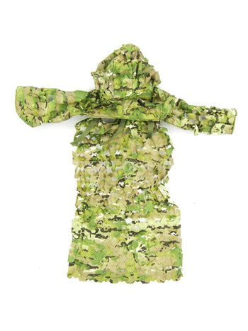 Navy SEAL - Sniper Shooter - Multicam Compact Assault Ghillie Top