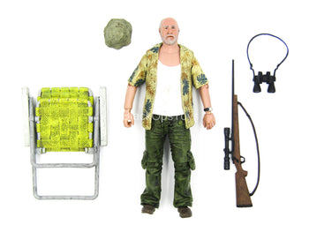 5 INCH SCALE - TWD - Dale Horvath w/Survival Gear Set