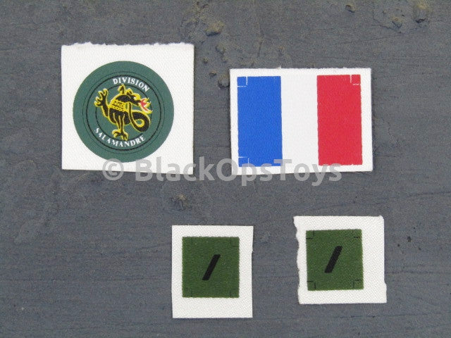 French Airborne BRUNO French Patches