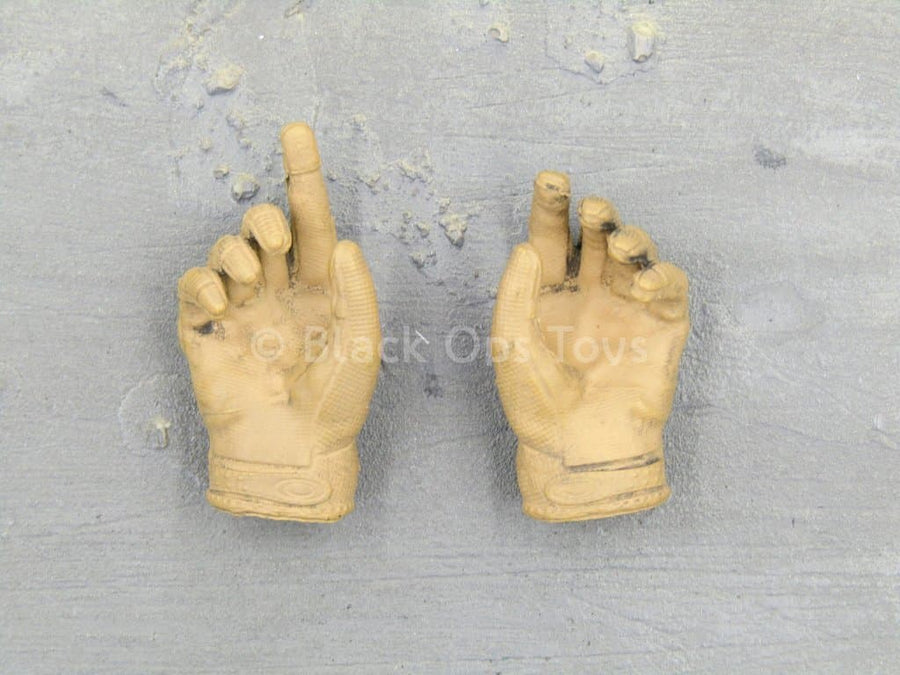 Navy SEAL - Sniper Shooter - Coyote Tan Gloved Hand Set