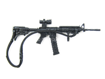 5 INCH SCALE - TWD - Black AR-15 Assault Rifle w/Extended Mag