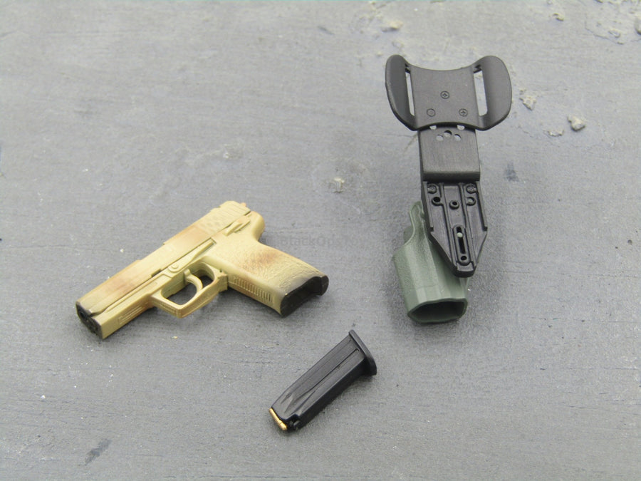 GERMAN KSK - Tan HKP8 Pistol & Holster Set