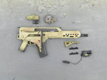 GERMAN KSK - G36K A4 Assault Rifle w/Folding Stock Set