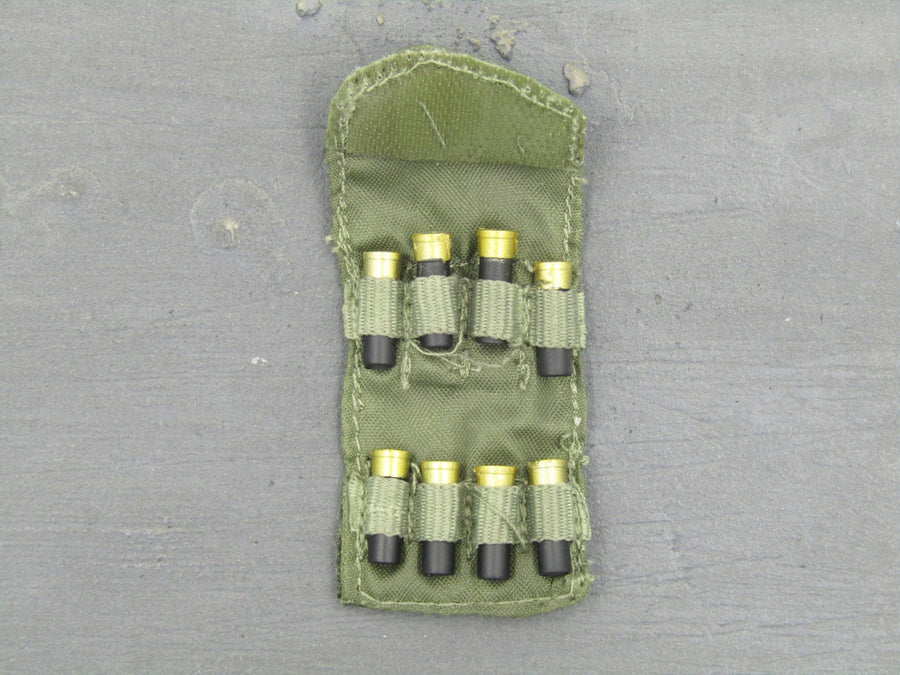 GI JOE - Lt. Falcon - Green Pouch w/Black Shotgun Shells (x8)