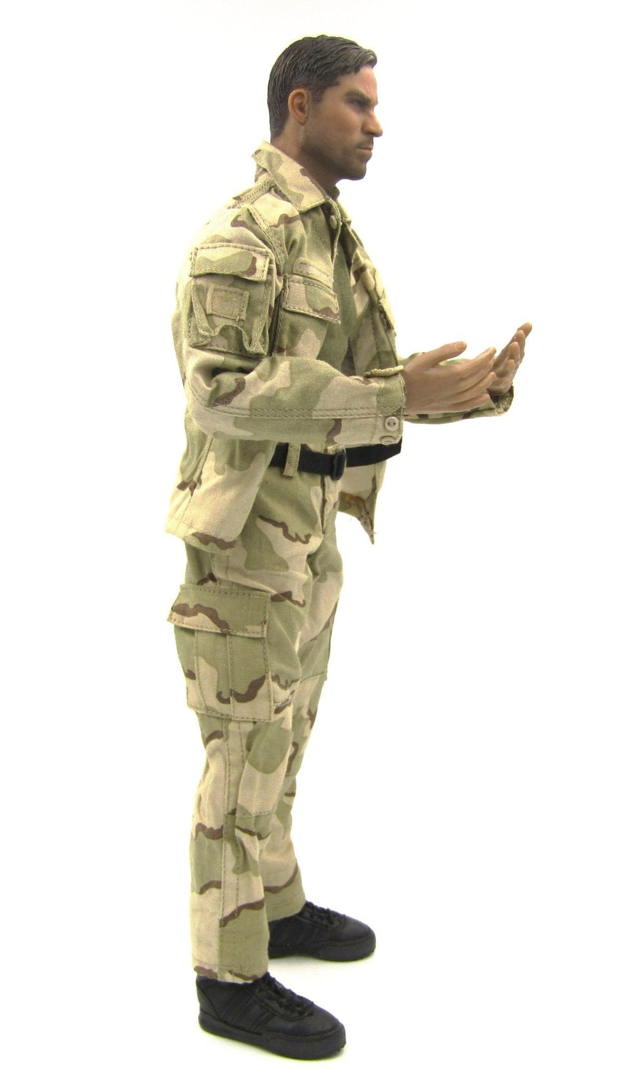 BHD - Support Rifleman - Male Base Body w/Desert Camo Uniform Set